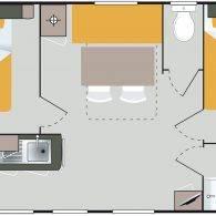 le plan du riviera - Camping Les Parcs
