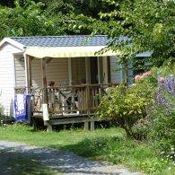 mobil home 4/6 places - Camping Les Parcs