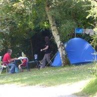 un emplacement de camping - Camping Les Parcs