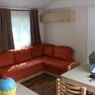 le salon du riviera confort - Camping Les Parcs