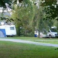 un camping car - Camping Les Parcs