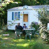 un Week-end en mobil home - Camping Les Parcs
