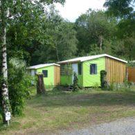 le mobil home tithome, la cabane de robinson crusoé - Camping Les Parcs