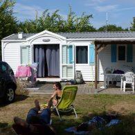 un charmant mobil-home 4/6 places au camping les parcs dans le morbihan - Camping Les Parcs