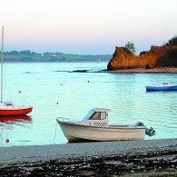 la plage de camaret - Camping Les Parcs