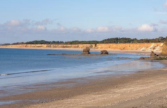promenade en bord de mer à pénestin - Camping Les Parcs