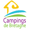 le logo du site campings de bretagne - Camping Les Parcs
